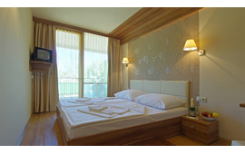 Design double room with extra bed